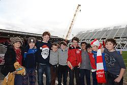 Birthday party  - Mandatory byline: Dougie Allward/JMP - 05/12/2015 - Football - Ashton Gate - Bristol, England - Bristol City v Blackburn Rovers - Sky Bet Championship