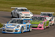 Porsche Carrera Cup Great Britain. Rockingham 2009