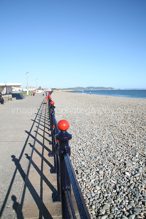 Railings at Bray Promenade County Wicklow Ireland