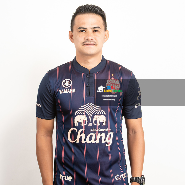 THAILAND - JUNE 26: Suchao Nutnum #8 of Buriram United on June 26, 2019.<br /> .<br /> .<br /> .<br /> (Photo by: Naratip Golf Srisupab/SEALs Sports Images/MB Media Solutions)