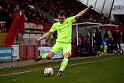 Carl Magny Hartlepool during the Sky Bet League 2 match between Crawley Town and Hartlepool United at the Checkatrade.com Stadium, Crawley, England on 19 March 2016. Photo by Jon Bromley.