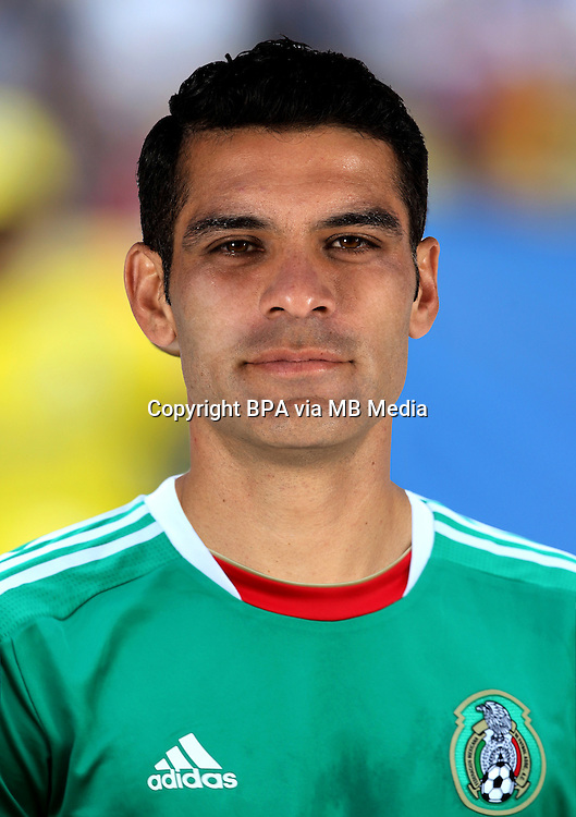 Football Fifa Brazil 2014 World Cup / <br /> Mexico National Team - <br /> Rafael Marquez Alvarez of Mexico