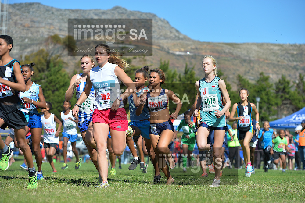CAPE TOWN, SOUTH AFRICA - APRIL 30:  during the Western Province Cross Country League at Pollsmoor Correctional Facility on April 30, 2016 in Cape Town, South Africa. (Photo by Roger Sedres/Gallo Images)