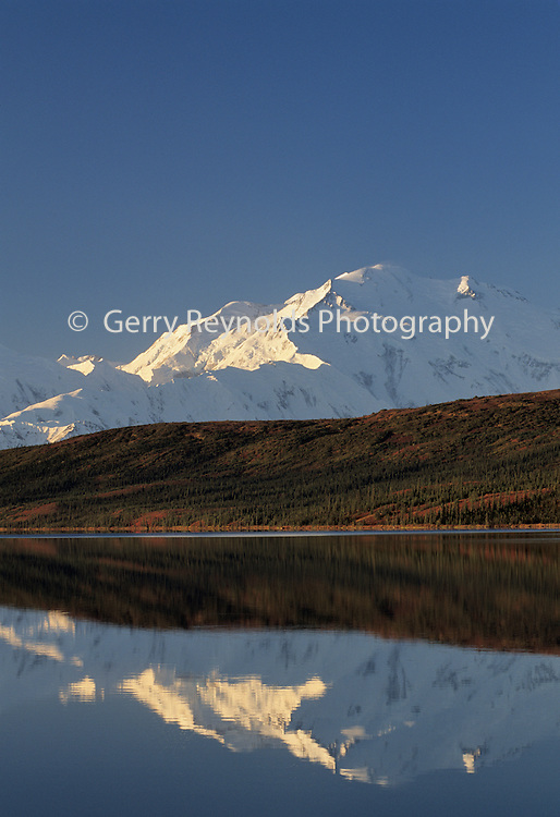 Mount McKinley, Wonder Lake, Reflection, Denali National Park, Alaska