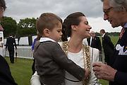 SASKIA BOXFORD; RIVER, Cartier Queen's Cup final at Guards Polo Club, Windsor Great Park. 16 June 2013