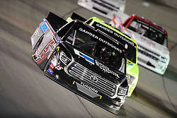 March 1, 2019 - Las Vegas, Nevada, U.S. - LAS VEGAS, NV - MARCH 01: Anthony Alfredo (15) DGR-Crosley Toyota Tundra racing during the Gander Outdoors Truck Series Strat 200 race on March 1, 2019, at Las Vegas Motor Speedway in Las Vegas, NV. (Photo by David Allio/Icon Sportswire) (Credit Image: © David Allio/Icon SMI via ZUMA Press)
