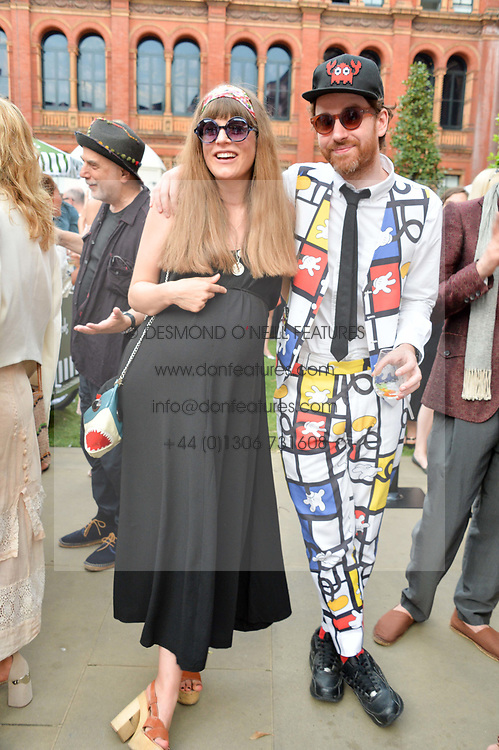 Philip Colbert and Charlotte Colbert at the V&A Summer Party 2017 held at the Victoria & Albert Museum, London England. 21 June 2017.