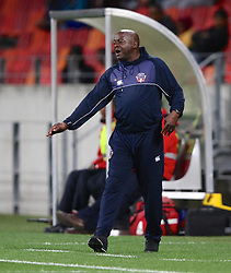 Dan Malesela, Head Coach, of Chippa United during the 2016 Premier Soccer League match between Chippa United and Free State Stars held at the Nelson Mandela Bay Stadium in Port Elizabeth, South Africa on the 23rd August 2016<br />