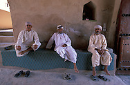 Guards, Rustaq Fort, Al Rustaq,Oman, Arabian Peninsula