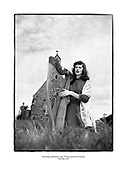 Irish singer and harpist, Mary O'Hara, pictured at Clontarf<br />