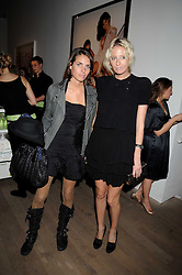 Left to right, MARINA HANBURY and the HON.SOPHIA HESKETH at the Quintessentailly Summer Party at the Phillips de Pury Gallery, 9 Howick Place, London on 9th July 2008.<br />