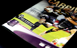 A match day programme for Brive v Worcester Warriors in the European Challenge Cup - Mandatory by-line: Robbie Stephenson/JMP - 14/01/2017 - RUGBY - Stade Amedee-Domenech - Brive-la-Gaillarde,  - Brive v Worcester Warriors - European Challenge Cup