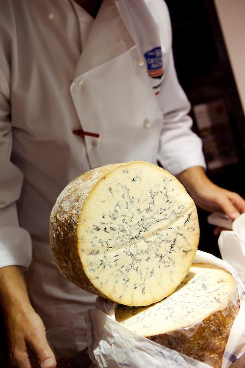 Stilton cheese and Stephen Hallam, Melton Mowbray
