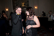Dinner to mark 50 years with Vogue for David Bailey, hosted by Alexandra Shulman. Claridge's. London. 11 May 2010 *** Local Caption *** -DO NOT ARCHIVE-© Copyright Photograph by Dafydd Jones. 248 Clapham Rd. London SW9 0PZ. Tel 0207 820 0771. www.dafjones.com.<br /> Dinner to mark 50 years with Vogue for David Bailey, hosted by Alexandra Shulman. Claridge's. London. 11 May 2010