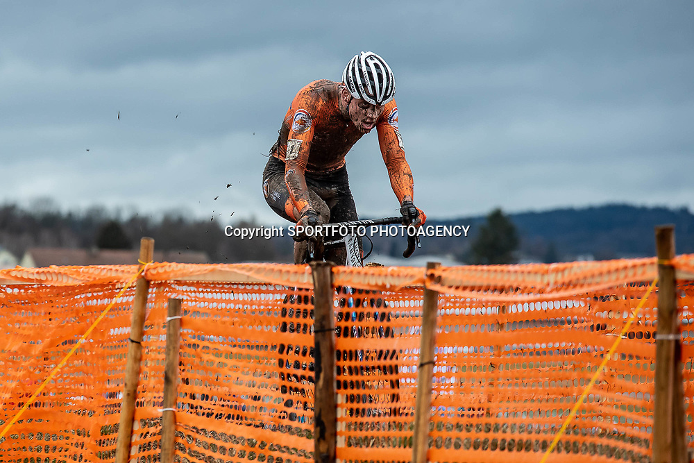 20190201: UCI CX Worlds : Dübendorf: Mathieu van der Poel led the race from the very first minute and gained a start-finish victory