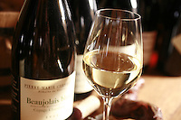 Domaine du Vissoux, Beaujolais..Chermette's Beaujolais Blanc. September 14, 2007..Photo by Owen Franken for the NY Times.