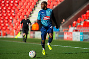 Fred Onyedinma of Wycombe Wanderers during the EFL Sky Bet League 1 match between Doncaster Rovers and Wycombe Wanderers at the Keepmoat Stadium, Doncaster, England on 29 February 2020.