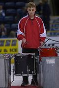 KELOWNA, CANADA - OCTOBER 14:  Drumline at the Kelowna Rockets game on October 14, 2016 at Prospera Place in Kelowna, British Columbia, Canada.  (Photo By Cindy Rogers/Nyasa Photography,  *** Local Caption ***
