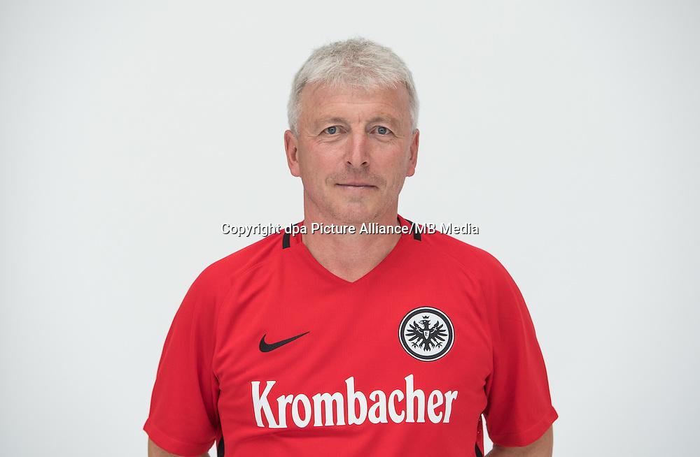 German Bundesliga - Season 2016/17 - Photocall Eintracht Frankfurt on 21 June 2016 in Frankfurt, Germany: Assistant coach Armin Reutershahn. Photo: Handout/Eintracht Frankfurt/Hübner/dpa | usage worldwide