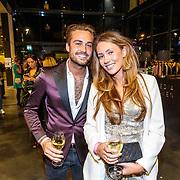 NLD/Amsterdam/20180416 - Finale 1e Curvy Supermodel 2018, DJ Dave Roelvink en partner
