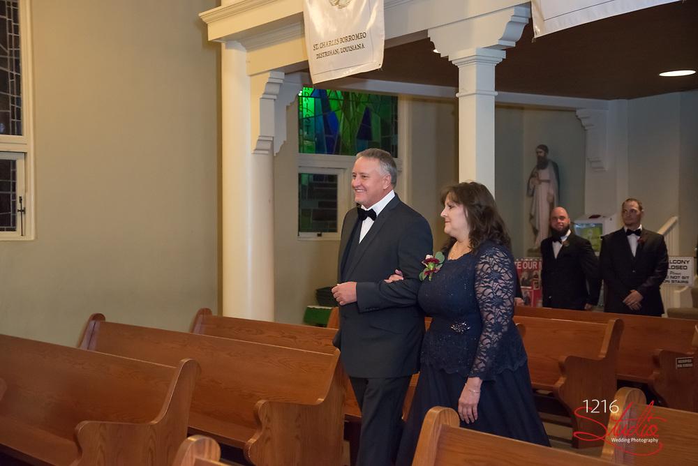 Shawn & Jacklyn Wedding Photography Samples | St. Charles Borromeo Catholic Church and Cedar Grove Plantation | 1216 Studio Wedding Photography