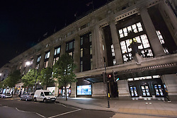 © licensed to London News Pictures. London, UK 06/06/2013. Selfridges on Oxford Street, London photographed on Thursday, 06 June 2013, after an armed robbery in the famous shopping centre. Photo credit: Tolga Akmen/LNP