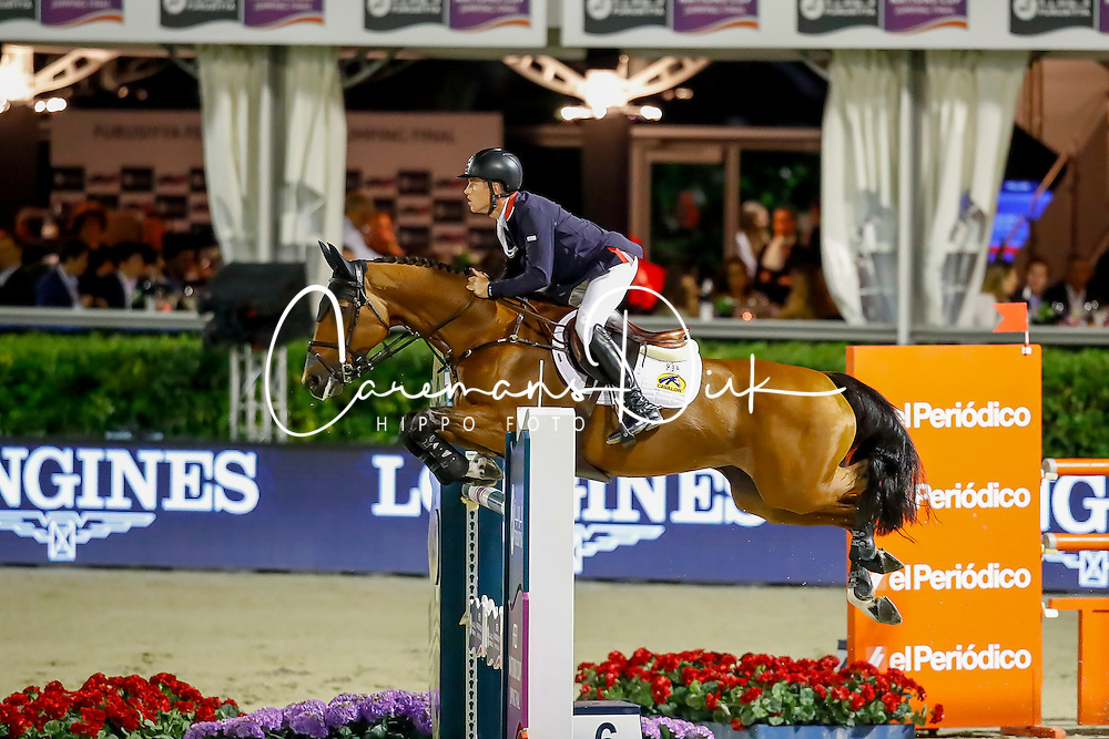 Brash Scott, GBR, Ursula XII<br /> Furusiyya FEI Nations Cup Jumping Final - Barcelona 2016<br /> © Hippo Foto - Dirk Caremans<br /> 24/09/16