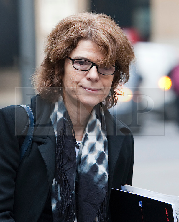 © Licensed to London News Pictures. 02/01/2012. London, UK. VICKY PRYCE  arriving at Southwark Crown Court in London on March 2nd, 2012 where she and her ex husband, Liberal Democrat MP CHRIS HUHNE,  face charges of perverting the course of justice. Former Energy Secretary CHRIS HUHNE is accused of asking his ex-wife VICKY PRYCE to take speeding points on his behalf in 2003. Photo credit : Ben Cawthra/LNP