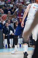FC Barcelona Lassa Rakim Sanders during Liga Endesa match between Real Madrid and FC Barcelona Lassa at Wizink Center in Madrid, Spain. November 12, 2017. (ALTERPHOTOS/Borja B.Hojas)