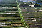 Nederland, Overijssel, Gemeente Steenwijkerland, 27-08-2013; Nationaal park en natuurgebied de Weerribben<br /> National park and nature reserve the Weerribben.<br /> luchtfoto (toeslag op standaard tarieven);<br /> aerial photo (additional fee required);<br /> copyright foto/photo Siebe Swart.