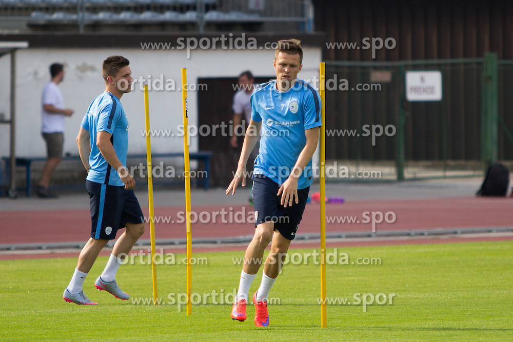 Josip Ilicic during practice session of Slovenian National Football Team before Euro 2016 Qualifications match against England, on June 11, 2015 in Kranj, Slovenia. Photo by Ziga Zupan / Sportida
