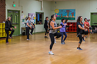 Zumba Class, Jefferson Community Center