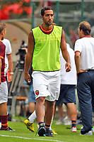 Mehdi Benatia<br /> Riscone (Brunico) 17.7.2013 <br /> Football Calcio 2013/2014 Serie A<br /> Ritiro precampionato AS Roma <br /> As Roma vs Rappresentativa Locale<br /> Foto Gino Mancini / Insidefoto