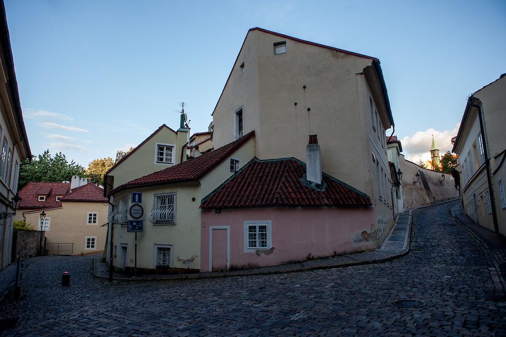 """The """"Novy Svet"""" quater - close to the Prague Castle area."""
