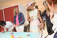 26-8-2015 LAREN Queen M&aacute;xima officially opened in Laren's Papageno House. In this house, teaching young people with autism to live independently and take part in work experience programs and day care COPYRIGHT ROBIN UTRECHT <br /> 26-8-2015 LAREN Koningin M&aacute;xima heeft in Laren het Papageno Huis officieel geopend. In dit huis leren jongeren met autisme om zelfstandig te wonen en nemen ze deel aan werkervaringsprogramma's en dagbesteding COPYRIGHT ROBIN UTRECHT