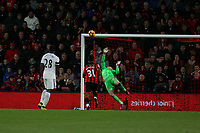 Football - 2016 / 2017 Premier League - AFC Bournemouth vs. Sunderland<br /> <br /> A top class save from Jordan Pickford of Sunderland keeps Sunderlands lead late on at Dean Court (The Vitality Stadium) Bournemouth<br /> <br /> COLORSPORT/SHAUN BOGGUST