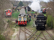 "Strasshof, Austria.<br /> Opening of the season at Das Heizhaus - Eisenbahnmuseum Strasshof, Lower Austria's newly designated competence center for railway museum activities.<br /> ÖBB 52.100 (Austrian State Railways) from 1943 - the locomotive ""that rebuilt Europe"" after WW2."