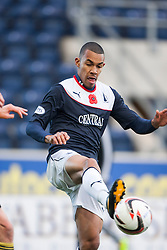 Falkirk's Phil Roberts.<br />