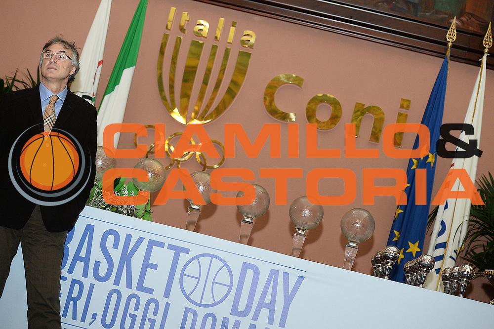DESCRIZIONE : Roma Basket Day Hall of Fame 2013<br /> GIOCATORE : Enrico Gilardi<br /> SQUADRA : FIP Federazione Italiana Pallacanestro <br /> EVENTO : Basket Day Hall of Fame 2013<br /> GARA : Roma Basket Day Hall of Fame 2013<br /> DATA : 09/12/2013<br /> CATEGORIA : Premiazione<br /> SPORT : Pallacanestro <br /> AUTORE : Agenzia Ciamillo-Castoria/GiulioCiamillo