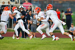 6 September 2019: Normal Community  Ironmen at Normal West Wildcats football for the annual Chili Bowl, Normal Illinois
