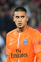 Alphonse Areola of PSG during the Uefa Champions League match between Paris Saint Germain and FC Bayern Munich on September 27, 2017 in Paris, France. (Photo by Dave Winter/Icon Sport)