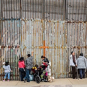 MEXICO: TIJUANA, THE WALL OF FEARS