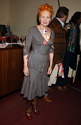 VIVIENNE WESTWOOD at the launch of 'Grand Classics:Films with Style' series in London hosted by Vivienne Westwood at The Electric Cinema, Portobello Road, London W11 on 20th March 2006.<br />