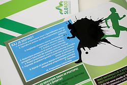 Press conference of SLOADO - Slovenian Anti-Doping Organisation, on April 4, 2016 in Kristalna palace, Ljubljana, Slovenia. Photo by Vid Ponikvar / Sportida