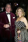 PETER AND GEORGI DONNELEY, Crillon Debutante Ball 2007,  Crillon Hotel Paris. 24 November 2007. -DO NOT ARCHIVE-© Copyright Photograph by Dafydd Jones. 248 Clapham Rd. London SW9 0PZ. Tel 0207 820 0771. www.dafjones.com.