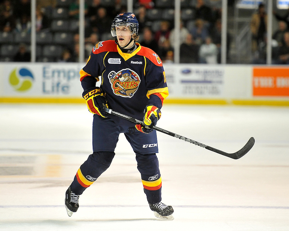 Artem Kuleshov of the Erie Otters. Photo by Aaron Bell/OHL Images