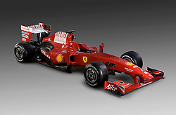 The New Ferrari F60 is launched. 12/01/2009 in Maranello,Italy.