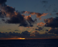 Pacific Ocean Sunset from the MV World Odyssey. Fuji X-T1 camera and 35 mm f/1.4 lens (ISO 320, 35 mm, f/16, 1/250 sec).