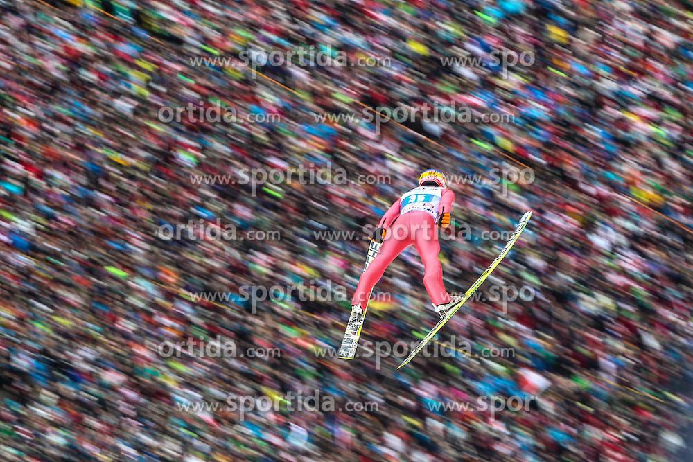 04.01.2014, Bergisel Schanze, Innsbruck, AUT, FIS Ski Sprung Weltcup, 62. Vierschanzentournee, Innsbruck, Bewerb, im Bild Maciej Kot (POL) // Maciej Kot (POL) during Competition of 62nd Four Hills Tournament of FIS Ski Jumping World Cup at the Bergisel Schanze in Innsbruck, Austria on 2014/01/04. EXPA Pictures © 2014, PhotoCredit: EXPA/ JFK