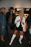DIANA JENKINS, Helmut Newton XL. Hamiltons. Carlos Place. London. 25 September 2007. -DO NOT ARCHIVE-© Copyright Photograph by Dafydd Jones. 248 Clapham Rd. London SW9 0PZ. Tel 0207 820 0771. www.dafjones.com.